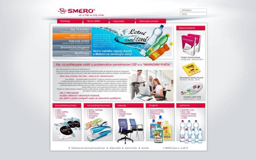 Návrh a realizace e-shopu SMERO