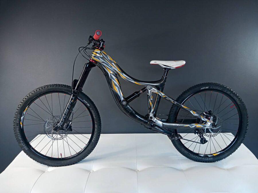 Návrh designu dětského horského kola